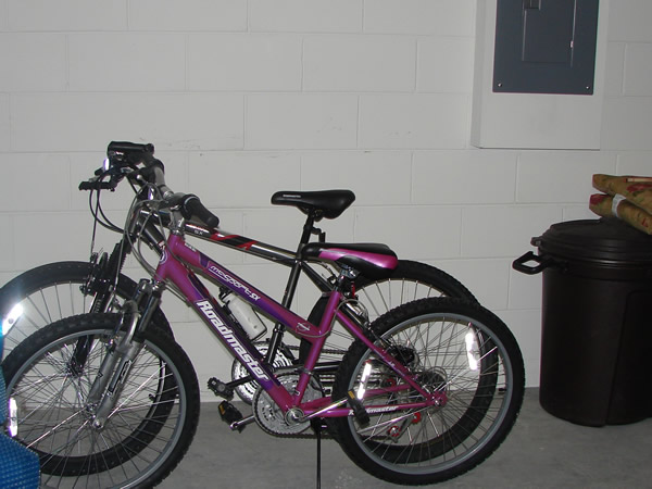 Bikes for guests to use